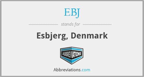 EBJ - Esbjerg, Denmark