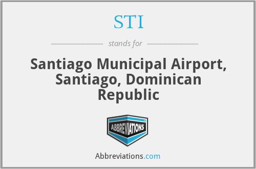 STI - Santiago Municipal Airport, Santiago, Dominican Republic