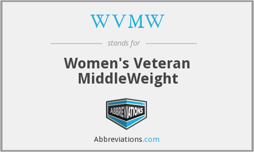 WVMW - Women's Veteran MiddleWeight