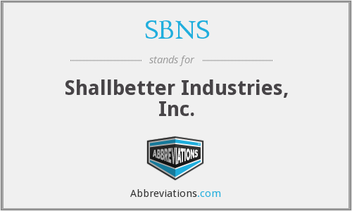 SBNS - Shallbetter Industries, Inc.