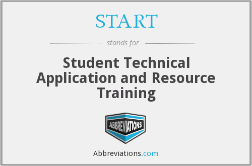 START - Student Technical Application and Resource Training