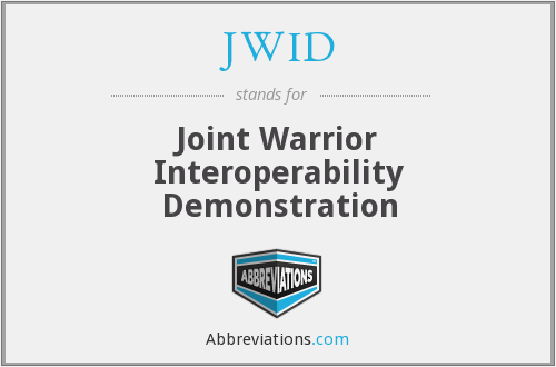 What does JWID stand for?