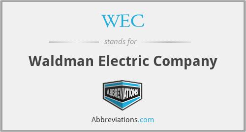 WEC - Waldman Electric Company