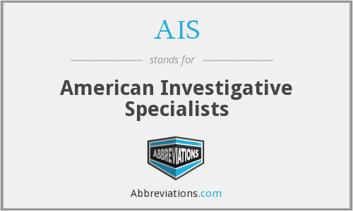 AIS - American Investigative Specialists