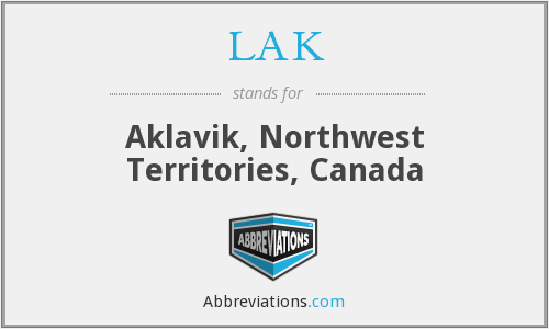 LAK - Aklavik, Northwest Territories, Canada
