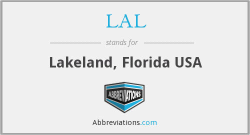 LAL - Lakeland, Florida USA