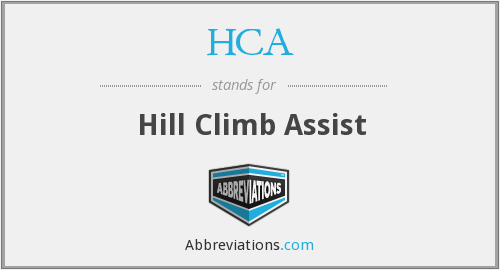 HCA - Hill Climb Assist