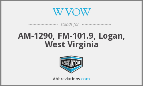 WVOW - AM-1290, FM-101.9, Logan, West Virginia