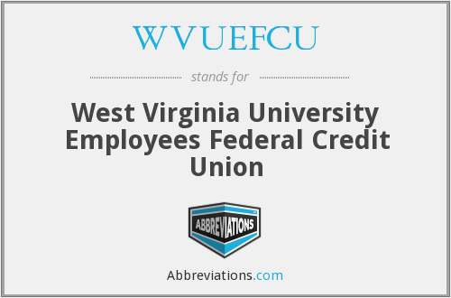 What does WVUEFCU stand for?