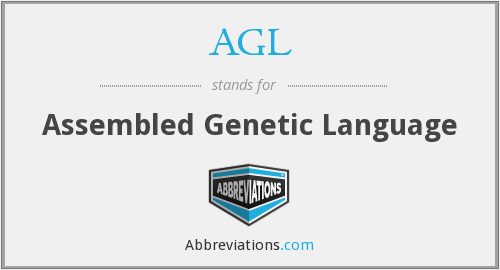 AGL - Assembled Genetic Language