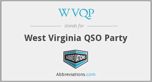 What does WVQP stand for?