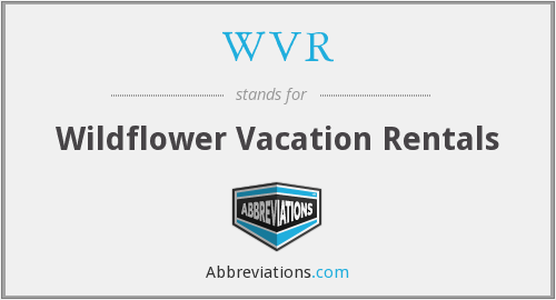 WVR - Wildflower Vacation Rentals