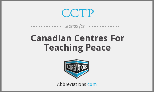 CCTP - Canadian Centres For Teaching Peace