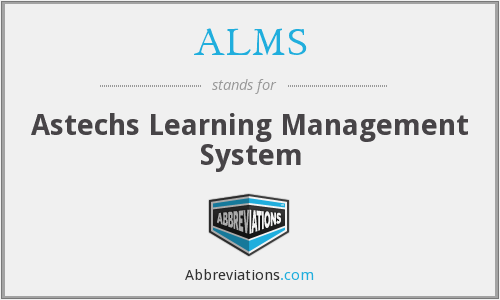 ALMS - Astechs Learning Management System