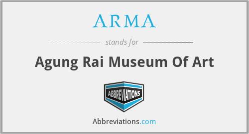 ARMA - Agung Rai Museum Of Art