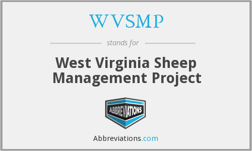 WVSMP - West Virginia Sheep Management Project