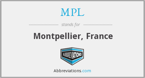 MPL - Montpellier, France