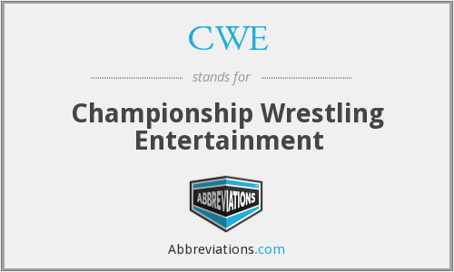 CWE - Championship Wrestling Entertainment