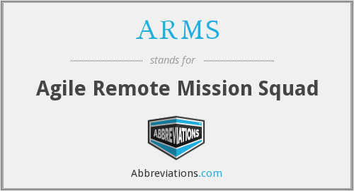 ARMS - Agile Remote Mission Squad