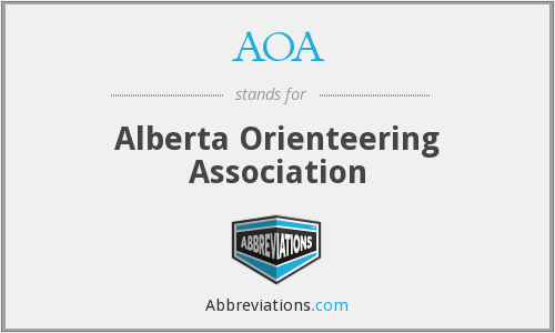 AOA - Alberta Orienteering Association