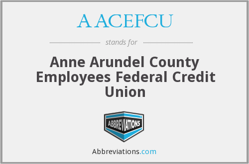 AACEFCU - Anne Arundel County Employees Federal Credit Union