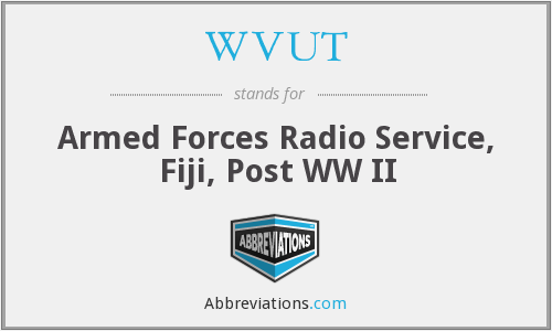 What does WVUT stand for?