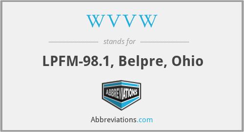 WVVW - LPFM-98.1, Belpre, Ohio