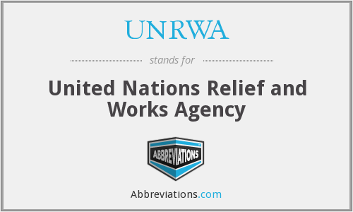 UNRWA - United Nations Relief and Works Agency