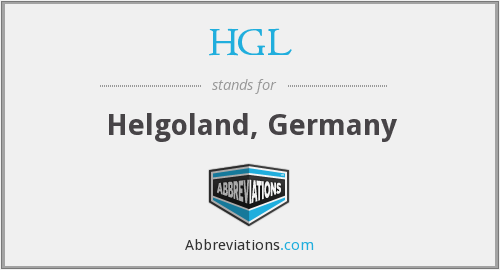 What does HGL stand for?