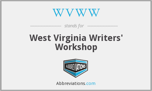 WVWW - West Virginia Writers' Workshop