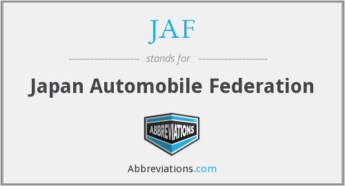JAF - Japan Automobile Federation