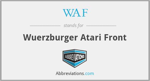 WAF - Wuerzburger Atari Front