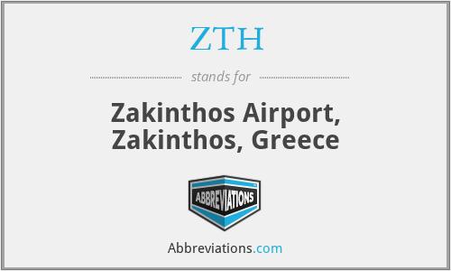 ZTH - Zakinthos Airport, Zakinthos, Greece