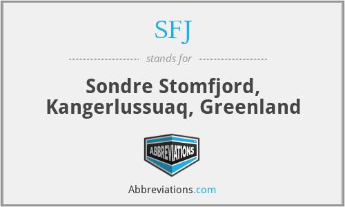 SFJ - Sondre Stomfjord, Kangerlussuaq, Greenland
