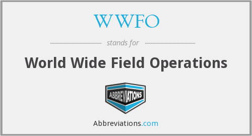 What does WWFO stand for?