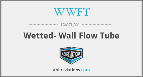 WWFT - Wetted- Wall Flow Tube