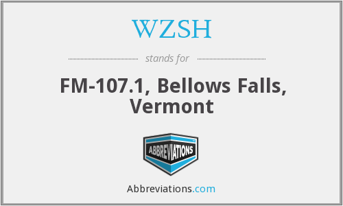 WZSH - FM-107.1, Bellows Falls, Vermont