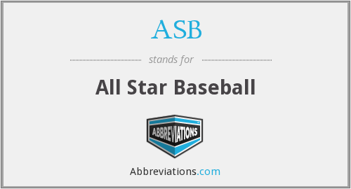 ASB - All Star Baseball