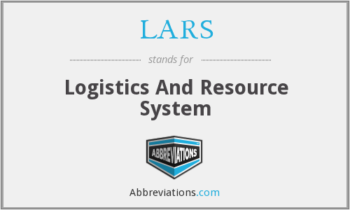 LARS - Logistics And Resource System