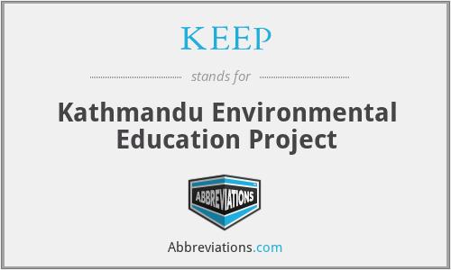 KEEP - Kathmandu Environmental Education Project