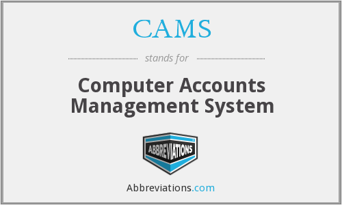 CAMS - Computer Accounts Management System