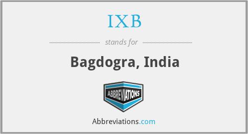 IXB - Bagdogra, India