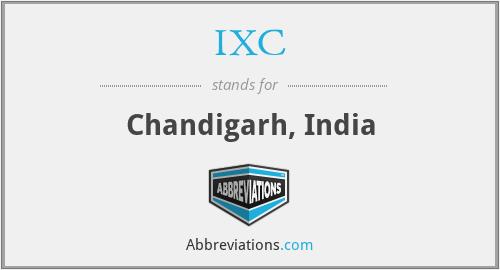 IXC - Chandigarh, India