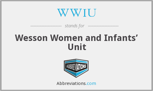 WWIU - Wesson Women and Infants' Unit