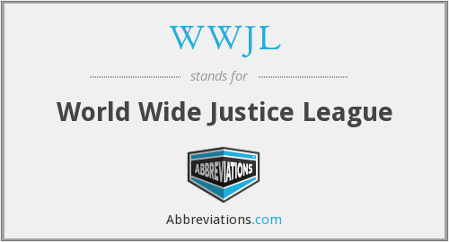 What does WWJL stand for?