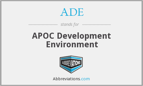 ADE - APOC Development Environment