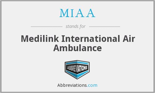 MIAA - Medilink International Air Ambulance