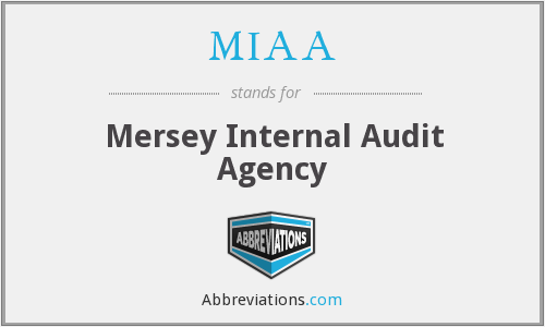 MIAA - Mersey Internal Audit Agency