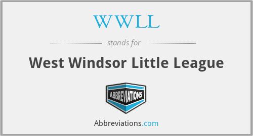 WWLL - West Windsor Little League