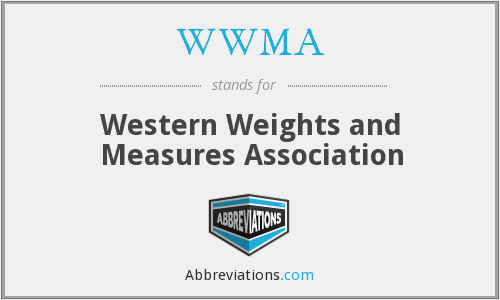 WWMA - Western Weights and Measures Association